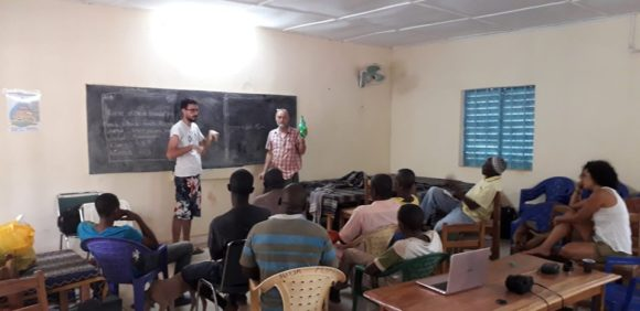 Curso International EMAS en Kolda, Senegal